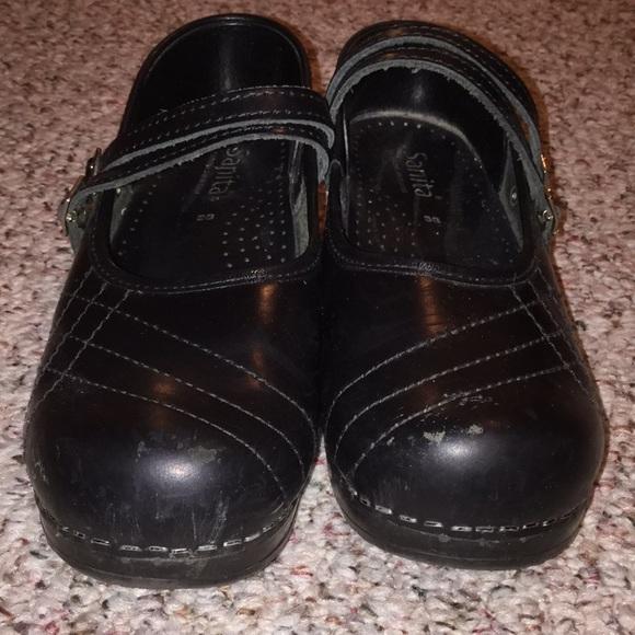 a2fd73f69c820 Sanita Professional double buckle clogs